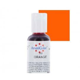 Гелевая краска AmeriColor апельсин (Orange)