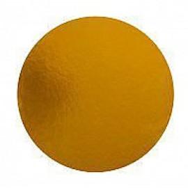 Подложка под торт серебро/золото 1мм d-18 см