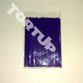 Палочки для кейк-попсов 150мм 50шт фиолетовые