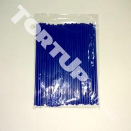 Палочки для кейк-попсов 150мм 50шт синие