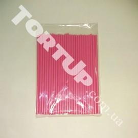Палочки для кейк-попсов 150мм 50шт розовые